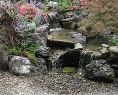 Pondless Water Feature  LandscapeDesignByAmanda.com