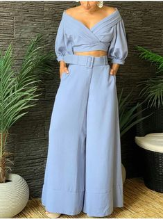 Fashion Pants, Fashion Outfits, Simple Dresses, Chic, Plus Size, Street Style, Crop Tops, My Style, Blouse