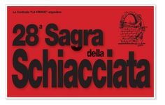 2015 Sagra della Schiacciata  Schiacciata Festival  May 23-24, May 30-31, and June 1-2, in Buti (Pisa), at the Cascine Sport Center, Via Eroi dello Spazio; schiacciata is one of Tuscany's top bakery treats; it is a type of flat bread (schiacciare in Italian means to flatten) containing flour, yeast, and water, salt and olive oil;  food booths feature a great variety of the schiacciate and many other local products; free bounce houses for children; nightly at 9:30 live music and ballroom…