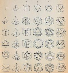 Geometric designs for tattoos