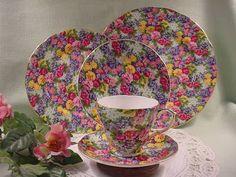 """Royal Winton """"Julia"""" chintz china pattern"""