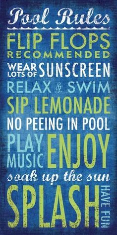 Diy Backyard Rules Chalkboard Style Print This Right From Home Custom Outdoor Sign With