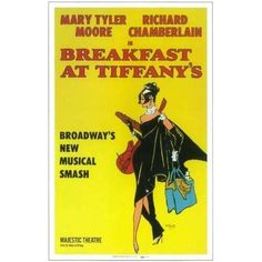 Even though the straight play Breakfast at Tiffany's didn't run, do you think it's time for a revival of the flop musical with its darker tone and score? Maybe Laura Benanti or Annaleigh Ashford?