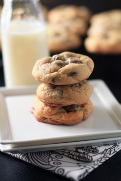 chocolate chip cookies. a friend told me they were they BEST chocolate chip cookies he had ever had. i didn't have any but i believe him!