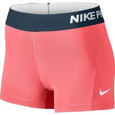 """Amazon.com: Nike Women Pro Cool 3"""" Compression Shorts: Clothing ($28) ❤ liked on Polyvore featuring nike"""