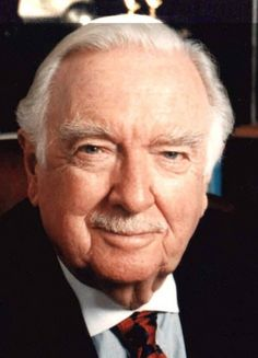 Walter Cronkite  And you were there....