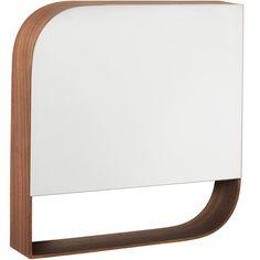 Spegel Rio, 45x45 cm, brun Muji, Rio, Mirror, Table, Furniture, Home Decor, Decoration Home, Room Decor, Mirrors