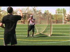 Trevor Tierney Goalie Drills   Shuffle - YouTube