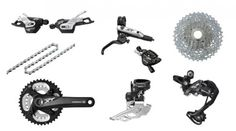 Browse our amazing Shimano Cycling range - available with free delivery worldwide & hassle free returns Online Bike Shop, Merlin Cycles, Bicycle Components, Cool Bicycles, Bike Parts, Sports Shops, Road Bike, Mountain Biking, Gears