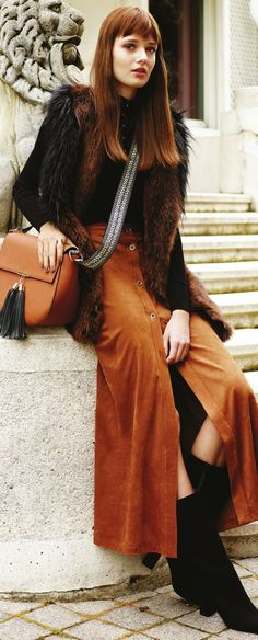 This is a perfect updated 70s-style outfit. I want to copy it if I can - http://www.boomerinas.com/2015/08/28/7-fall-boot-trends-2015-hip-footwear-to-wear-and-to-avoid/