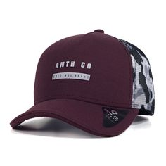 5b8c67d7d3521 Boné Trucker Anth Co Dang Vinho Women Hats