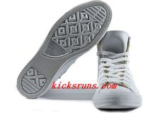White Leather Converse Double Zipper John Varvatos Oxford Winter Chuck Taylor All Star High Tops Sneakers