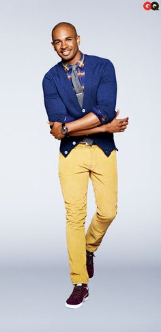 Damon Wayans Jr for GQ... One of my favorite actors who also happens to be SO CUTE