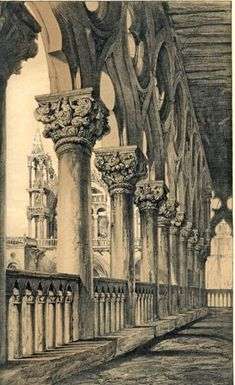 [A3N] : The Ducal Palace. Renaissance Capitals of the Loggia / John Ruskin