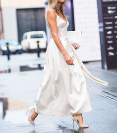 Springtime Street Style Snaps You're Going To Love ~ Gorgeous in White 2014