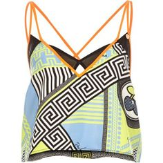 I'm shopping Blue Pacha print strappy cami in the River Island iPhone app. Leopard Print Shoes, Cami Tops, Swimsuits, Swimwear, Festival Fashion, New Outfits, String Bikinis, Beachwear, Style Inspiration