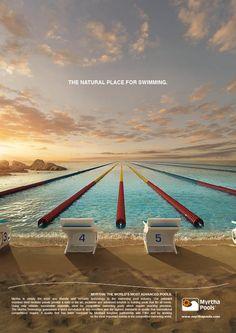 Piscine Castiglione - Myrtha Pools by Edoardo d'Amore, via Behance