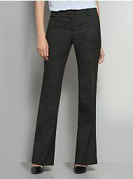 The 7th Avenue Metro Stretch Bootcut Pant - Pinstripe - Petite