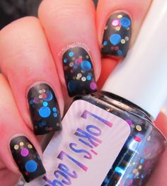It's all about the polish: Glitter Dots Galore