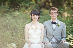#emersonmade necklace, #sarahseven dress vancouver wedding