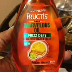 Summer heat and humidity ruining your hairstyle? Grab Garnier Fructis Marvelous Oil Frizz Defy to add shine and smooth frizz!