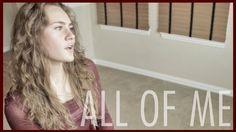 "John Legend - ""All of Me"" - Tyler Ward & Kristine Wild (Acoustic cover) ..."