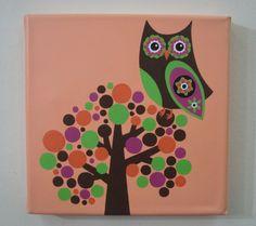 Lechuzas pintadas - Imagui