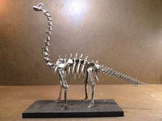 Mind-Blowing Origami Dinosaur Skeletons