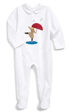 Burberry Graphic One-Piece (Baby Girls)