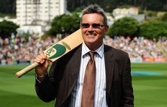 Martin Crowe reveals worsening cancer condition - Dec 2014 A former New Zealand captain and world class strokemaker, he played 77 Tests and scored 5444 runs in a career. He retired from first-class cricket in Martin Crowe, William And Son, Russell Crowe, Wife And Kids, Famous Celebrities, World Cup, Cricket, New Zealand, Affair