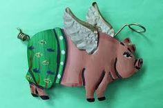 Image result for unique pig statues
