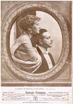 Casamento de D. Manuel de Bragança - D. Manuel II - e D. Augusta Vitória