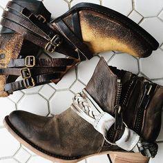 We've got booties on the brain.  #boots #booties #freebirdboots #fall #leather #boho #bohostyle #fashion #gypset #gypsetstyle #tgwatx