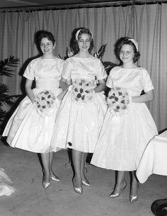 FAWELLS Warr Godbold Wedding circa1960s 03 | by FRANK AND MARY SUE WELLS PHOTOGRAPHY 1960s Wedding Dresses, Vintage Dresses, Wedding Gowns, Vintage Outfits, Vintage Fashion, Wedding Parties, Vintage Clothing, Ball Dresses, Ball Gowns