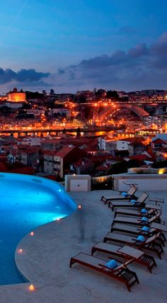 This is the end of the day on The Yeatman Hotel | #Portoholidays #Porto #Relaischateaux