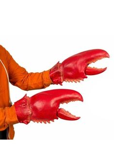 Giant Lobster, Lobster Costume, Monster Hands, Lobster Claws, Halloween Accessories, Pretty Cool, Costumes, Kids, Lobsters