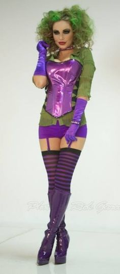 Ultimate Lady Joker Halloween Costume « Grassy Knoll Institute  sc 1 st  Pinterest & c47df48e6faa2e5ad886be352f534e36.jpg 640×630 pixels | Fantasy ...