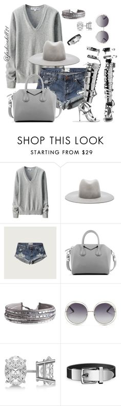 """""""Untitled #1362"""" by fashionkill21 ❤ liked on Polyvore featuring Uniqlo, Janessa Leone, Abercrombie & Fitch, Tom Ford, Givenchy, Pieces, Chloé and Allurez"""