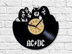 We made our clocks from old , used vinyl records. Thanks to our passion to music…