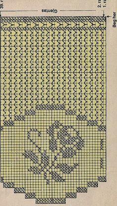 Crochet Curtain Pattern, Crochet Curtains, Curtain Patterns, Crochet Doilies, Crochet Flowers, Filet Crochet, Crochet Borders, Irish Crochet, Knitting Projects