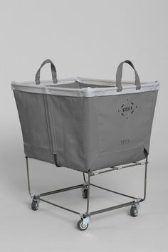 Canvas Elevated Laundry Hamper