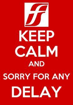 Trenitalia Keep Calm.