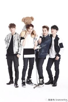 EXO ♡ Harper's Bazaar China, February issue, 2014