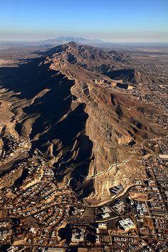 Franklin Mountains of El Paso, Texas
