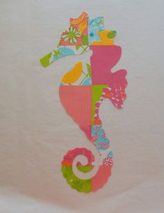 Made to Order pillow New custom Seahorse Pillow made by jlmyakima, $32.00