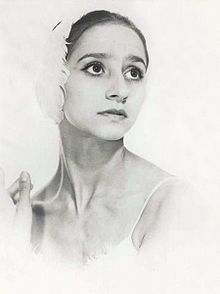 "Natalia Bessmertnova  1941 - 2008   She died of cancer, age 66. A slight, pale dancer with large eyes, Ms. Bessmertnova was known for an innate lyricism that gave her dancing a mysterious, almost unearthly beauty. These qualities made her especially notable in the title role of ""Giselle.""    Reviewing the Bolshoi's London season in 1969 for The New York Times, Clive Barnes called Ms. Bessmertnova ""the kind of dancer born to dance Giselle."""