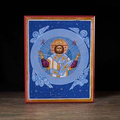 Christ Pantocrator, King of the Universe Icon - X134 - Legacy Icons