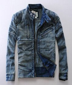 Diesel Men denim jacket | Raddest Men's Fashion Looks On The Internet: http://www.raddestlooks.org