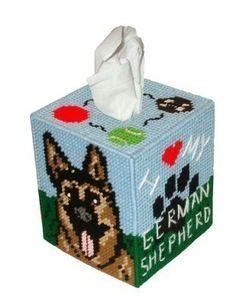 Free Plastic Canvas Tissue Box   ... shepherd tissue box cover plastic by rainbowponydesigns tissue box