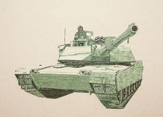 M1A1 - Chad Person, Money Art | Flickr - Photo Sharing!
